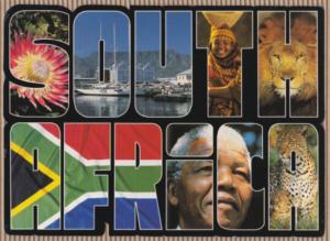 Nelson Mandela Postcard Front